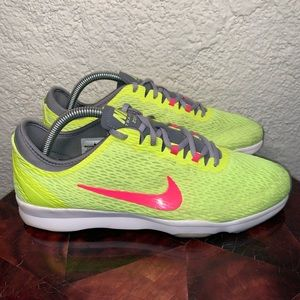 Nike Zoom Fit Agility Training Athletic Sneakers